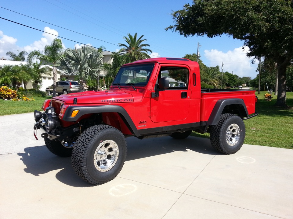 Tj Brute For Sale >> Jeep Red Runner Brute